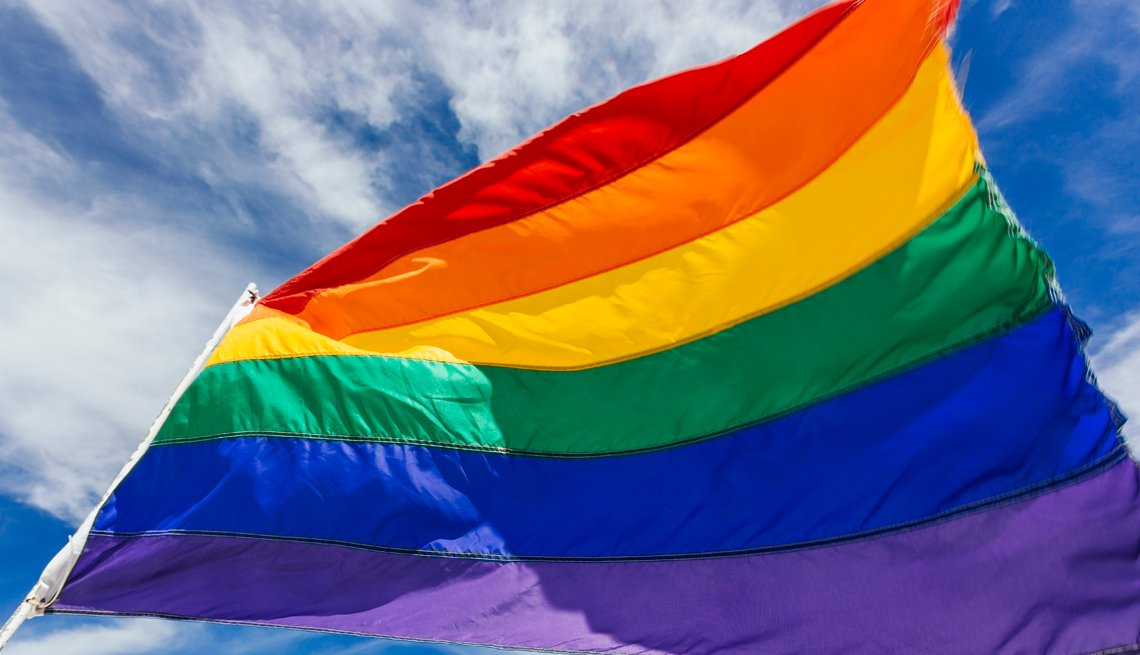 Bandera de la comunidad LGBTQ