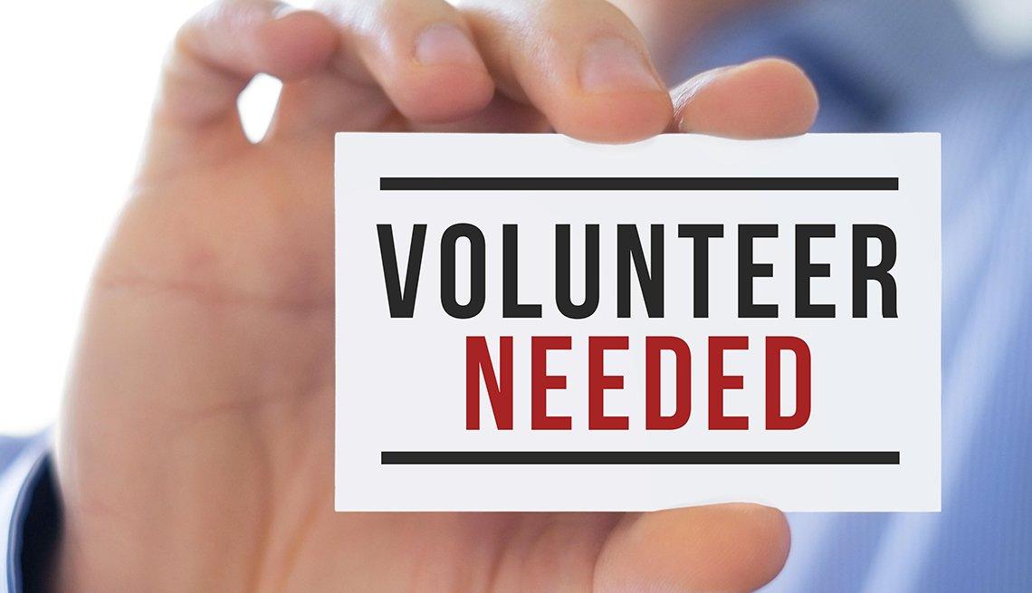 Volunteers needed posting