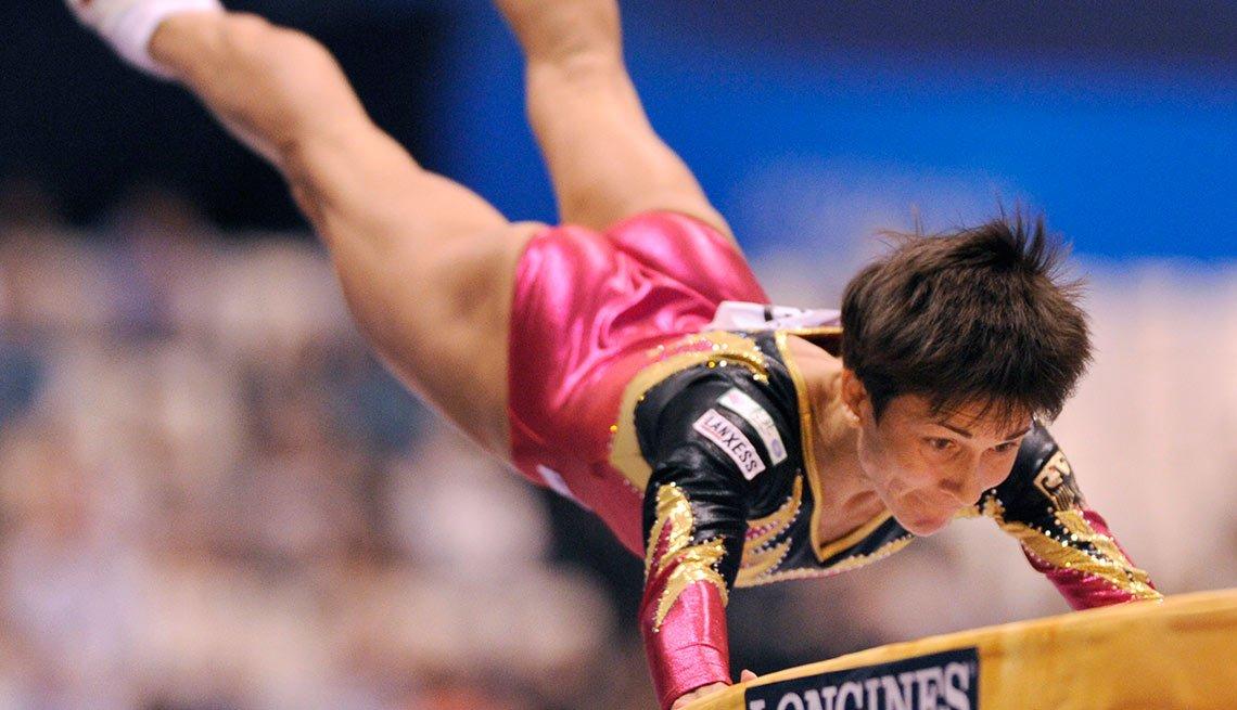 Oksana Chusovitina, 41, gymnast