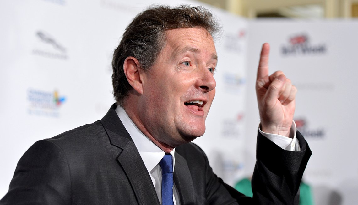 Patronizing Pop, Piers Morgan