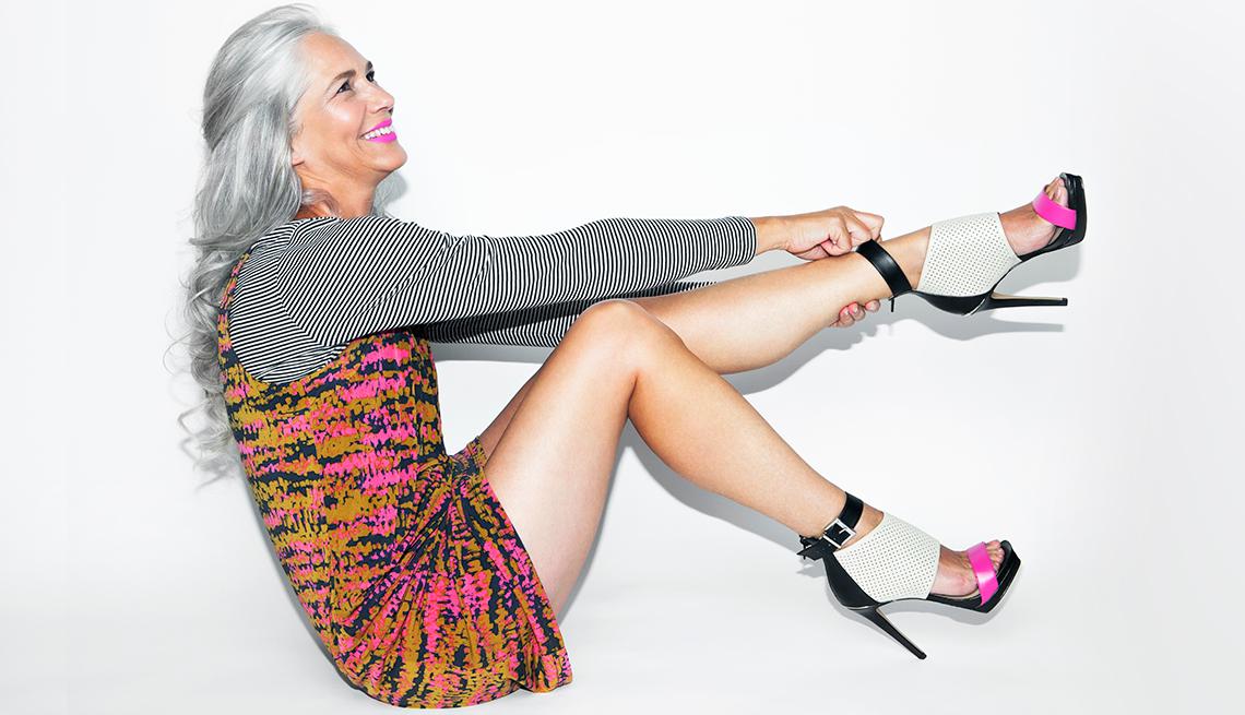 fashion forward woman