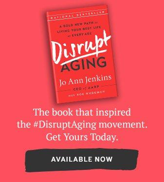 Disrupt aging book