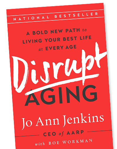Disrupt Aging by Jo Ann Jenkins book image