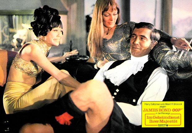 James Bond 007,George Lazenby