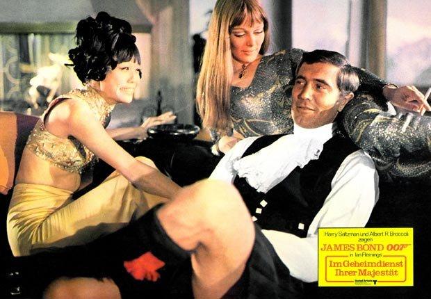 James Bond 007,George Lazenby