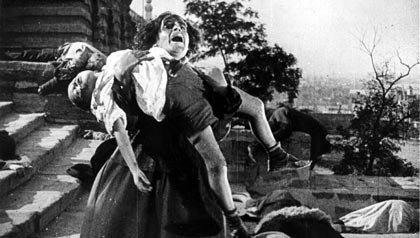 Una escena de Battleship Potemkin, una de las 21 películas clásicas para ver.