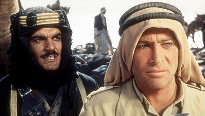 Una escena de Lawrence de Arabia, una de las 21 películas clásicas para ver.