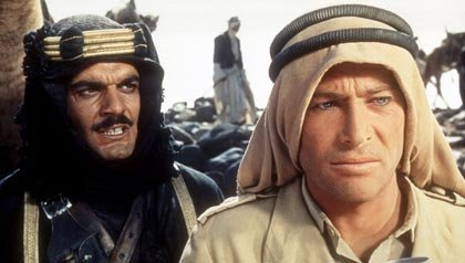 Lawrence of Arabis is one of the 20 essential movies for people over 50+