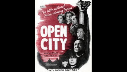 Rome, Open City is on of the 20 essential movies for people over 50+