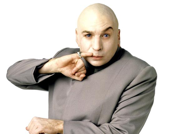 Mike Myers as Goldmember in Austin Powers: The Spy Who Shagged Me