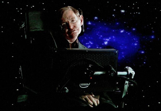 British scientist Stephen Hawking. For Fifty year long careers.