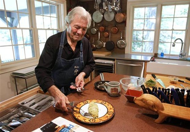 Chef Jacques Pepin has been cooking up popular meals for over fifty years. For Power of 50/50 Year Careers.