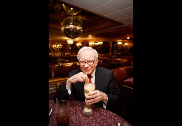 Warren Buffett, 2008. For the Power of 50/50 year careers page.