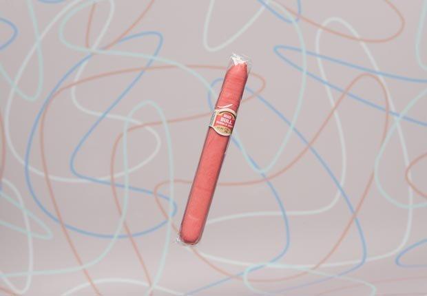 Gum cigar.