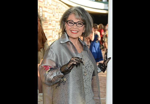 Writer/Actress Roseanne Barr arrives at the Comedy Central Roast of Roseanne Barr at Hollywood Palladium on August 4, 2012 in Hollywood, California.