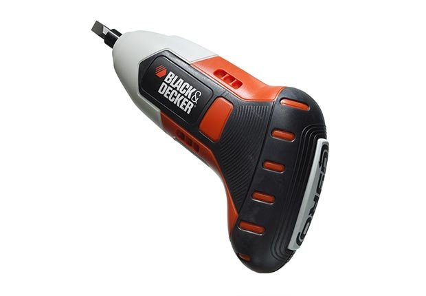 Rechargeable motion-activated screwdriver