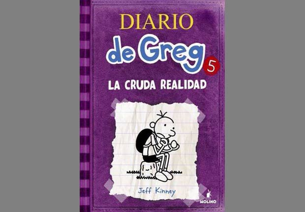 Libro Diario de Greg 5 - Libros infantiles para el verano