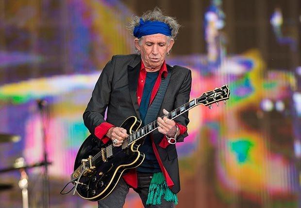 Keith Richards cumple 70 años en diciembre.