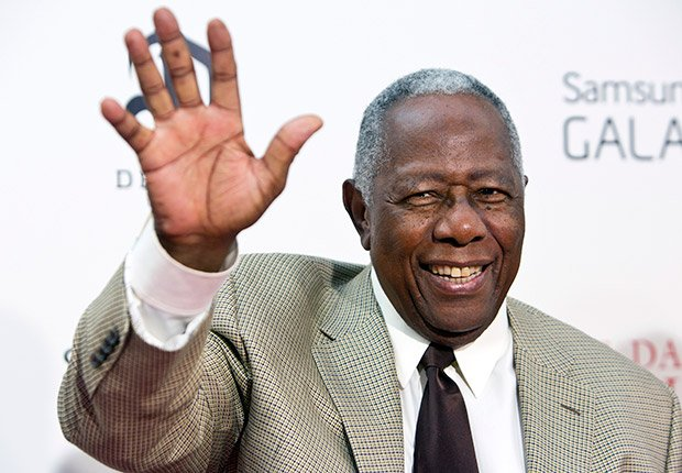 Hank Aaron, 80. February Milestone Birthdays.