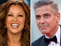 Vanessa Williams and George Clooney, AARP's sexiest boomer poll