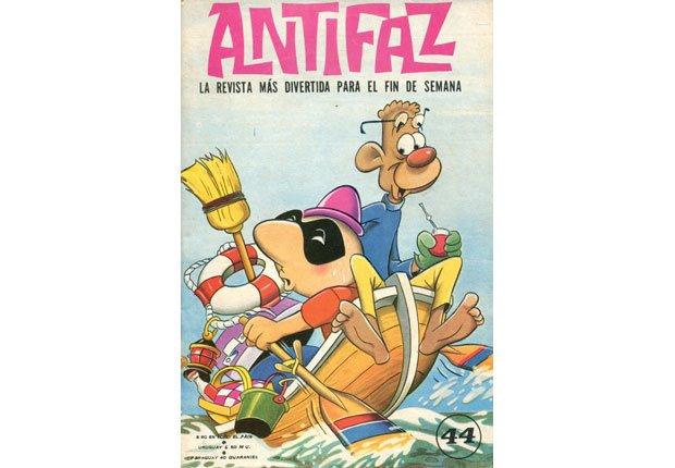 Antifaz y Zanzibar Joe - Superheroes latinoamericanos