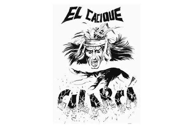 El Cacique Calarcá - Superheroes latinoamericanos