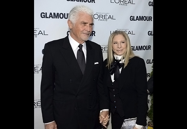 James Brolin and Barbra Streisand. Romantic Couples Over 50.