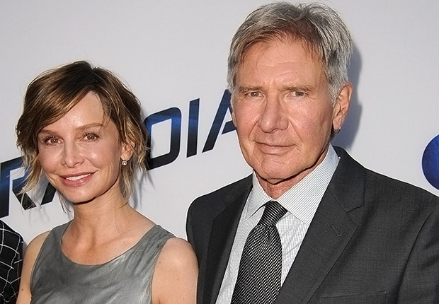 Calista Flockhart and Harrison Ford. Romantic Couples Over 50.