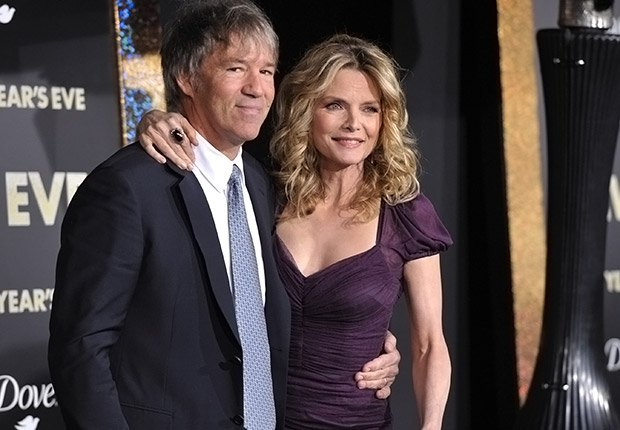 David E. Kelley and Michelle Pfeiffer. Romantic Couples Over 50.
