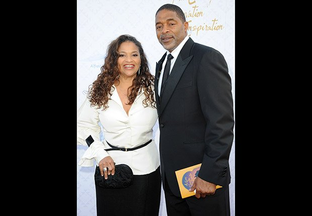 Debbie Allen and Norm Nixon. Romantic Couples Over 50.