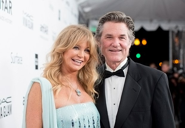 Goldie Hawn and Kurt Russell. Romantic Couples Over 50.
