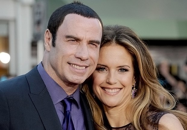 John Travolta and Kelly Preston. Romantic Couples Over 50.