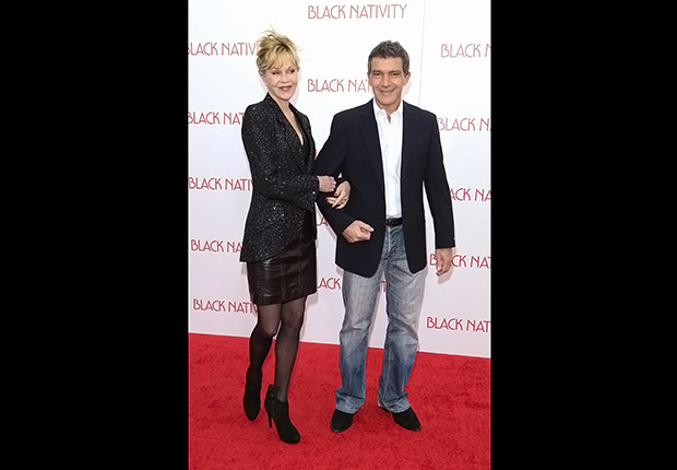 Melanie Griffith and Antonio Banderas. Romantic Couples Over 50.