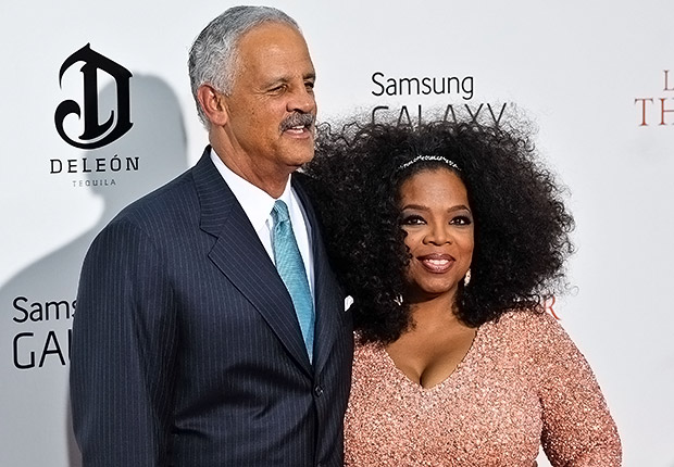 Stedman Graham and Oprah Winfrey. Romantic Couples Over 50.