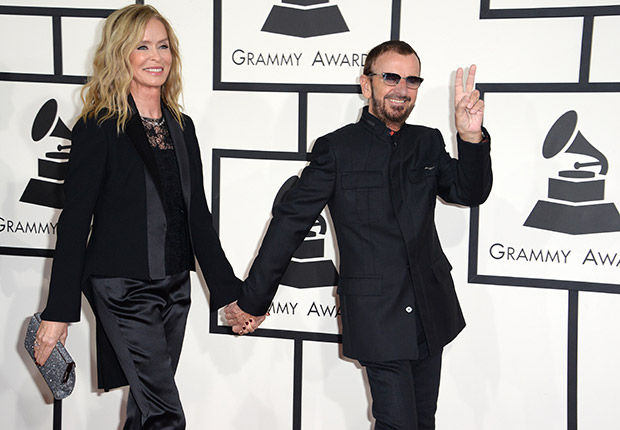 Barbara Bach and Ringo Starr. Romantic Couples Over 50.