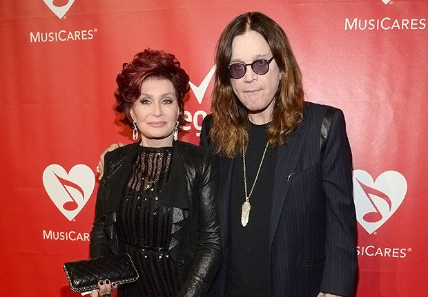Sharon Osbourne and Ozzy Osbourne. Romantic Couples Over 50.