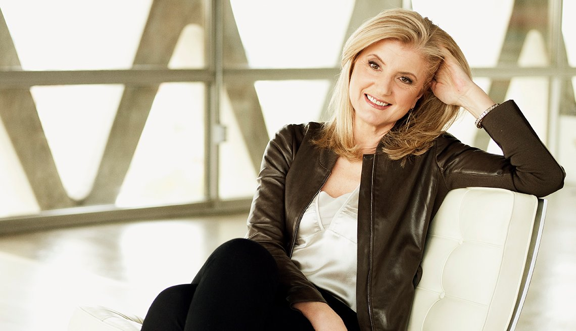 Arianna Huffington, Business Woman, Author, AARP Interview