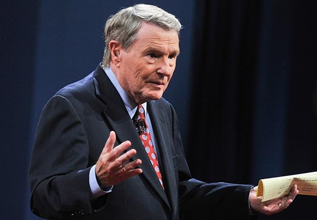Jim Lehrer, 80. May Milestone Birthdays.