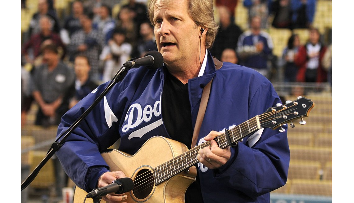 Actor Jeff Daniels Performs, Sings, Guitar, Actor Rock Stars