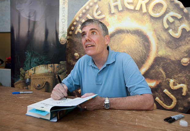 Rick Riordan, 50. June Milestone Birthdays.