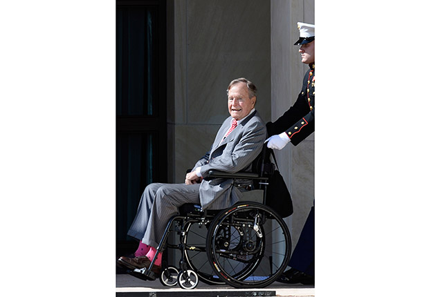 George H. W. Bush, 90. June Milestone Birthdays.