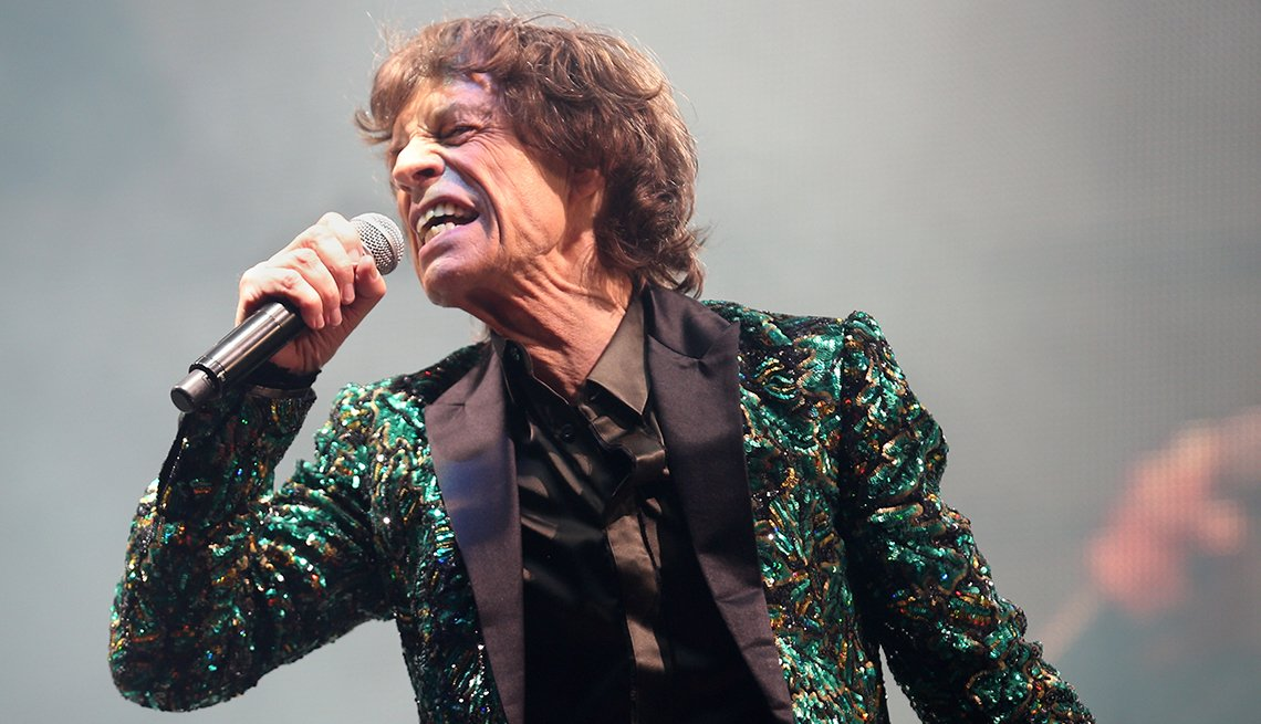 Mick Jagger, Singing, Concert, The Rolling Stones, The Glastonbury Festival, Fashion Styles, 50 Plus