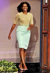how to dress your age getting older dressing better michelle obama