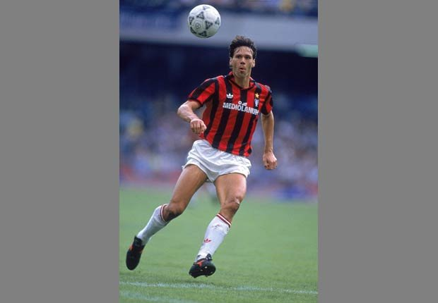 Marco Van Basten - Los mejores goleadores de todos los tiempos