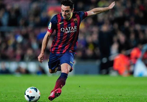 Xavi Hernández - El equipo de ensueño de fútbol