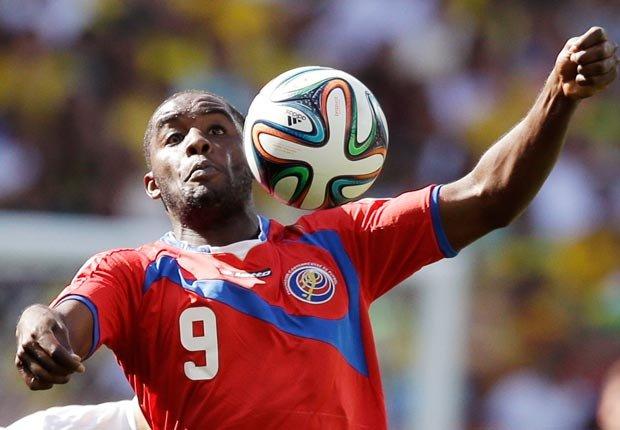 Joel Campbell de la selección de Costa Rica - Curiosidades del Mundial de fútbol de Brasil 2014