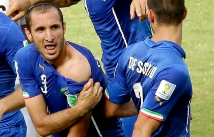 Brazil Soccer WCup Italy Uruguay