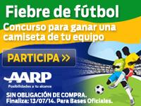 Fiebre de fútbol: Concurso para ganar una camiseta de tu equipo favorito