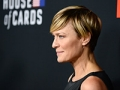 Robin Wright's short haircut. Try short haircuts for the summer.