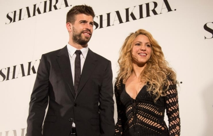 Shakira y el jugador de fútbol Gerard Pique